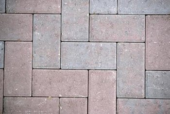 changing colors on brick pavers