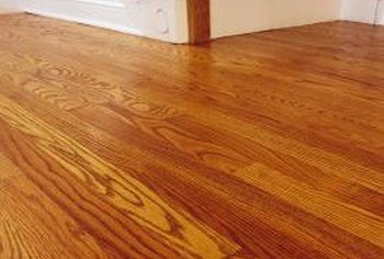 How To Remove Water Stains From An Oak Floor To Prepare For Refinishing Home Guides Sf Gate