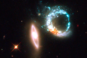 NASA capta anillo gigante de hoyos negros /Foto: El universal