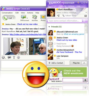 [Yahoo! Messenger for Windows]