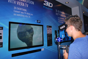 Panasonic Viera 2D-to-3D Conversion