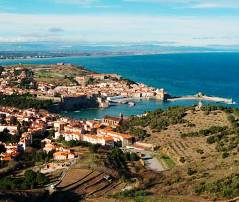 Les Caranques, Collioure, France