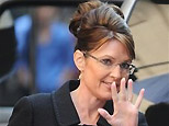 Republican vice presidential candidate Sarah Palin leaves her hotel for a meeting with Afghan President Hamid Karzai, Tuesday, Sept. 23, 2008 in New York. (AP)