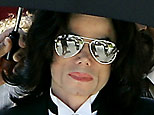 Michael Jackson leaves Santa Barbara County Superior Court in Santa Maria, Calif., Monday, June 13, 2005 AP Photo/John G. Mabanglo