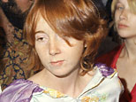 Lynette Fromme and members of Charles Manson's