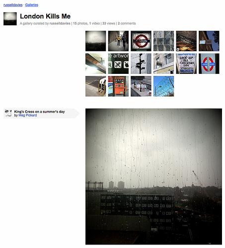 """Galerie """"London kills me"""" ausgestellt von russelldavies"""