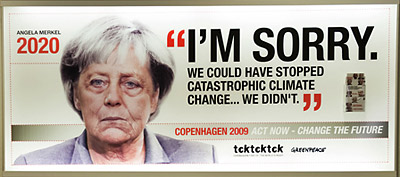 Angela Merkel Greenpeace ad