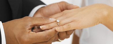 Wedding ring. (Getty Images)