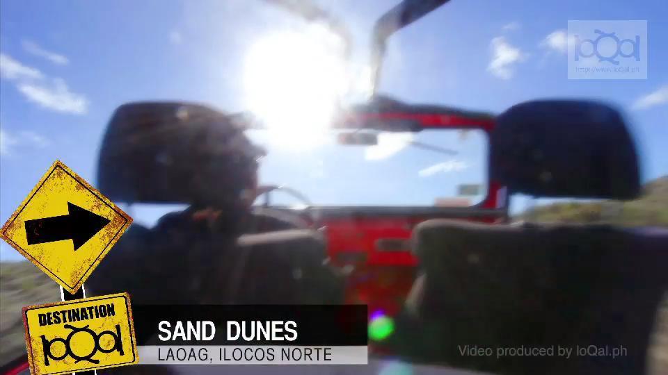 Sand boarding at Laoag's sand dunes @ Yahoo! Video