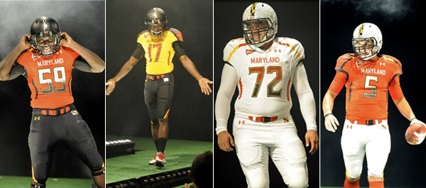 Actually, Maryland's new turtle-themed helmets are supposed to look like that
