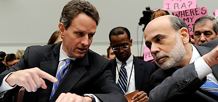Geithner and Bernanke