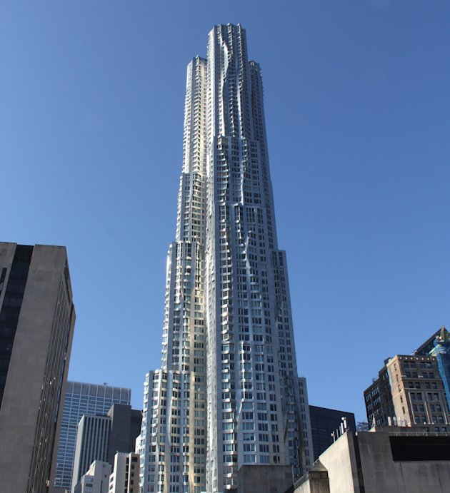 New York by Gehry residential tower in New York City. (Photo: Darcy Strobel)