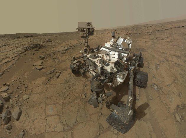 Curiosity self portrait, NASA