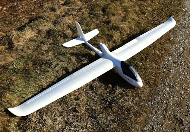 In this March 1, 2012 photo released by ConservationDrones.org., a drone developed by conservation drone pioneer Lian Pin Koh of the Swiss Federal Institute of Technology and partner Serge Wich is sho