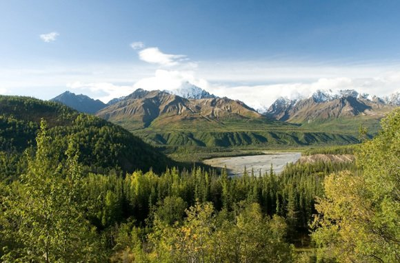 Wrangell-Kluane Wilderness (Photo: Thinkstock/Hemera)