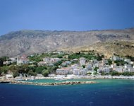 Ikaria, Greece. Ikaria is an island in the Aegean to the south-west of Samos. It gets its name from Icarus, who fell into the sea nearby according to legend. Keine Weitergabe an Drittverwerter
