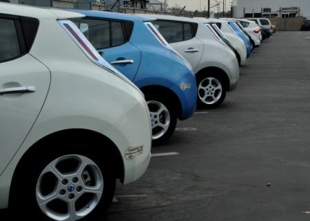 Electric Vehicle Fleet Gives California Green Energy Boost