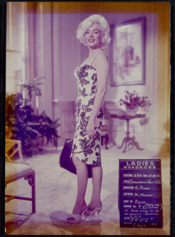 """This image, taken in 1962, shows Marilyn Monroe on the set of """"Something's Got to Give."""" This item is part of Julien's Auctions Hollywood Legends being held on Saturday, March 31, 2012 and Sunday April 1 in Beverly Hills, Calif. (AP Photo/Julien's Auctions)"""