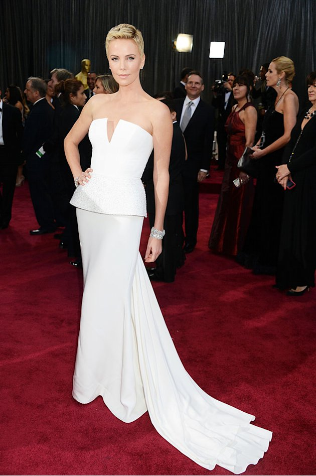 85th Annual Academy Awards - Arrivals: Charlize Theron