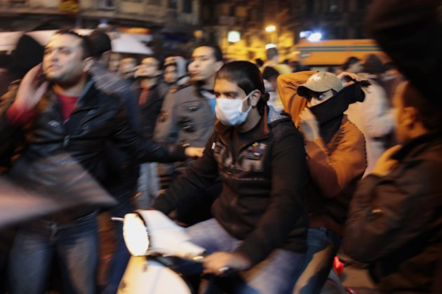 Demonstrations In Cairo Follow Football Stadium Deaths