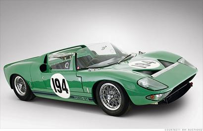 1965 Ford GT40: Up to $600,000