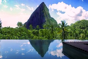 The Hotel Chocolat, St. Lucia (Courtesy of Hotel Chocolat Ltd.)