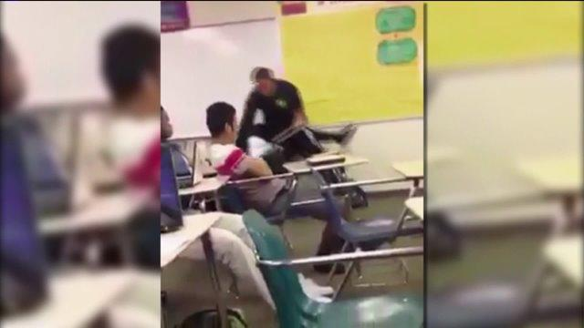 Sheriff Says New Video Shows Student Punching Officer