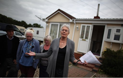 The Traveller Community Of Dale Farm Face Eviction