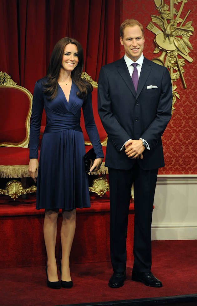 Madame Tussauds London Introduces The Duke And Duchess Of Cambridge To The Royal Line Up