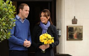 Baby boy joy for William and Kate