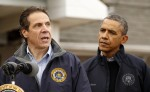 Obama visits New York to view Hurricane Sandy recovery efforts