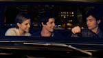 """This image released by Summit Entertainment shows, from left, Emma Watson, Logan Lerman, and Ezra Miller in a scene from """"The Perks of Being a Wallflower."""" (AP Photo/Summit Entertainment, John ..."""