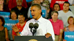 Obama attends rally in Nevada