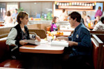 "This image released by Summit Entertainment shows Emma Watson, left, and Logan Lerman in a scene from ""The Perks of Being a Wallflower."" (AP Photo/Summit Entertainment, John Bramley)"