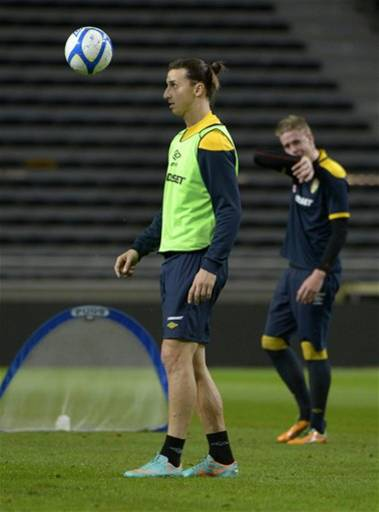 Sweden Soccer Training