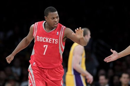 Houston Rockets' Kyle Lowry Slaps