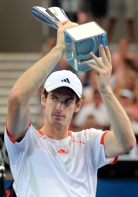 Andy Murray Of Britain Holds