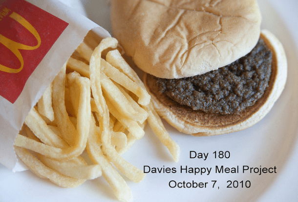 Day 180 | Davies Happy Meal Project | October 7, 2010