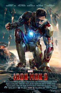 Poster for 2013 action film Iron Man 3