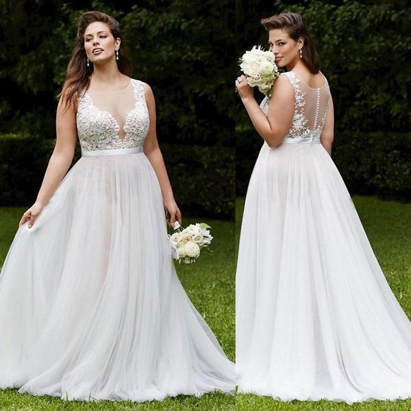 Свадебные платья для женщин после 40 лет — фото наряда на ...