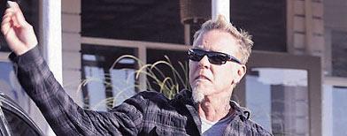 James Hetfield / Foto: Infobae