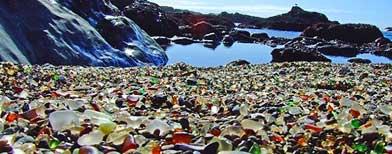 Glass Beach, California. (HANDOUT/Mendocino Beach)
