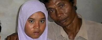 Wati, dada por muerta en el tsunami de 2004 en Indonesia / Foto: AP