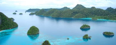 "Raja Ampat (Foto: Dokumentasi ""True Love"")"