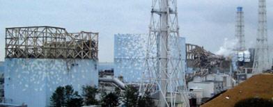 The Fukushima Daiichi nuclear plant (Reuters/Tokyo Electric Power Co.)