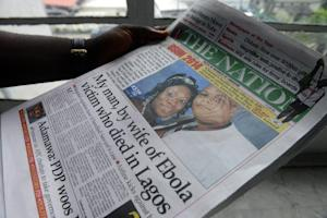 front page story on the death of Liberian diplomat …