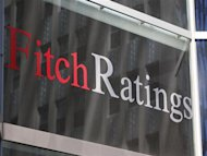 The Fitch Ratings building is seen in New York