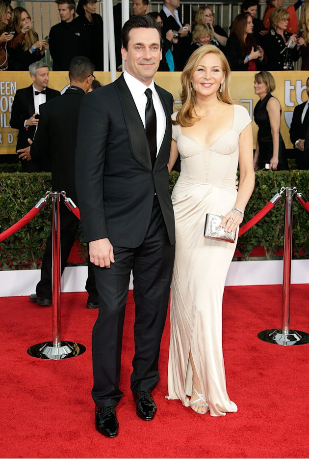 Jon Hamm and Jennifer Wes …