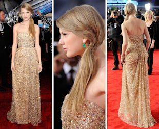 Taylor Swift In Reem Acra – 2011 American Music Awards