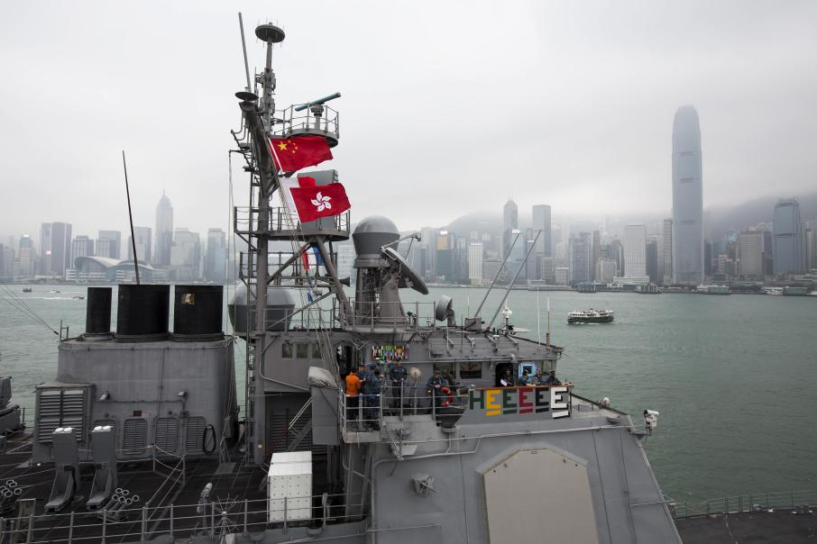 USS Antietam leaving Hong Kong for Philippines, Typhoon Haiyan, Palau Typhoon, Palau Typhoon Haiyan, Jim Caldwell Redondo Beach